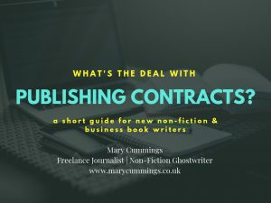 What's the deal with publishing contracts